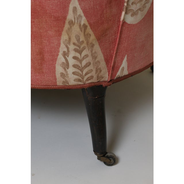 Light Pink 19th Century French Scroll Back Chair For Sale - Image 8 of 10