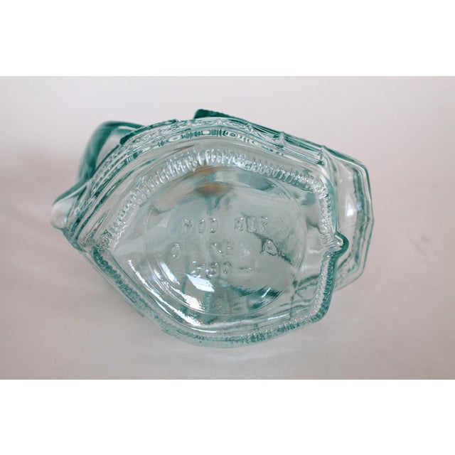 Mid 20th Century Glass Sailboat Bottle For Sale - Image 5 of 6