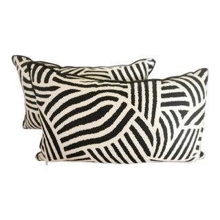 Custom Geometric Pillows - A Pair