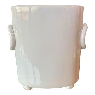 Regency Style White Vase For Sale