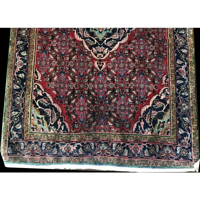 "Traditional 1970s Vintage Persian Bidjar Rug-3'5'x5'6"" For Sale - Image 3 of 7"