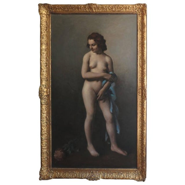 19th Century Large-Scale Nude For Sale - Image 9 of 9