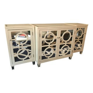 Contemporary Worlds Away Buffet/Media Console For Sale