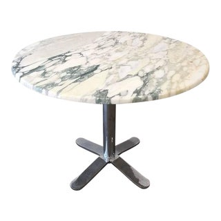 Nicos Zographos Marble Top Table For Sale
