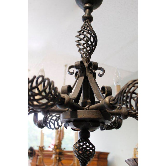 French provincial wrought iron chandeliers chandelier designs french provincial style wrought iron chandelier chairish aloadofball Gallery