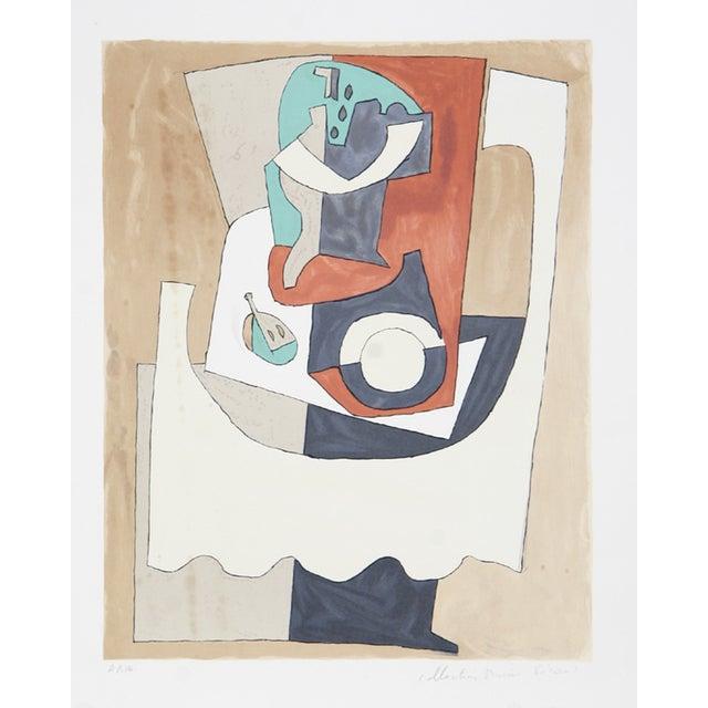"Pablo Picasso ""Nature Morte Gueridon"" Lithograph For Sale"