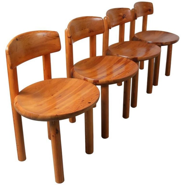 Set of Four Dining Chairs by Rainer Daumiller for Hirtshals Sawmill, Denmark - Image 8 of 8