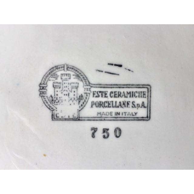 Este Ceramiche-Italian Faience Dish & Cup For Sale In New York - Image 6 of 10