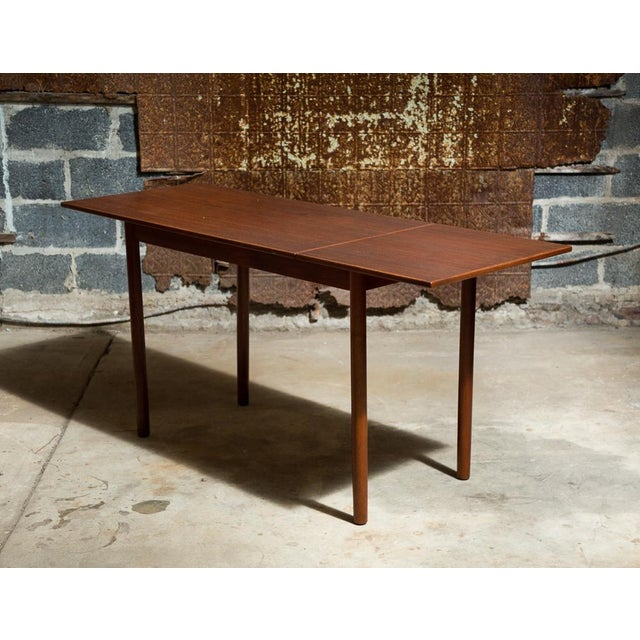 Skodborg Møbelfabrik Drop-Leaf Danish Desk - Image 3 of 11