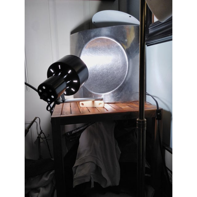 1970s Vintage Mid Century Style Reflector Wall/Ceiling Light For Sale - Image 10 of 12