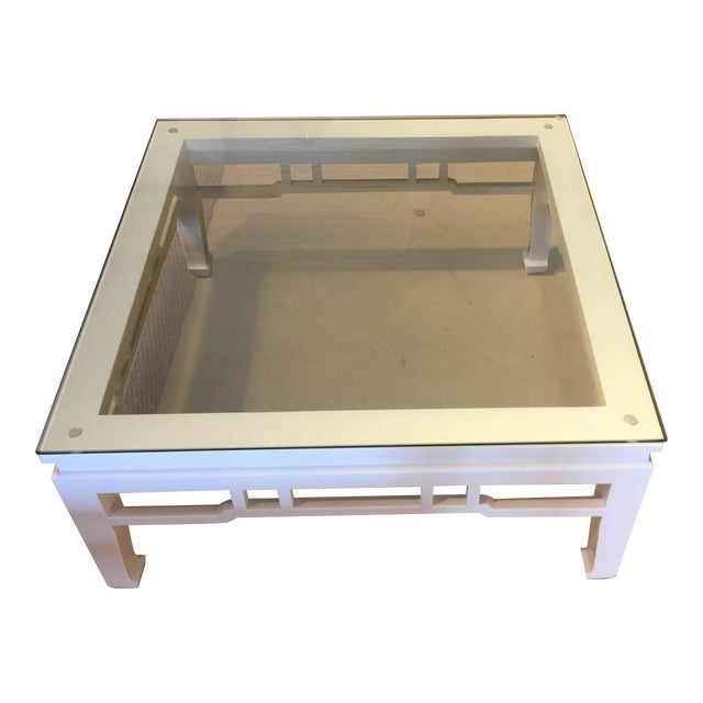 White Glossy Coffee Table - Image 1 of 3