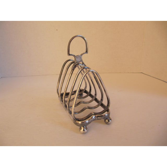 1900s English Toast Rack From the People's Refreshment House Association For Sale - Image 5 of 5