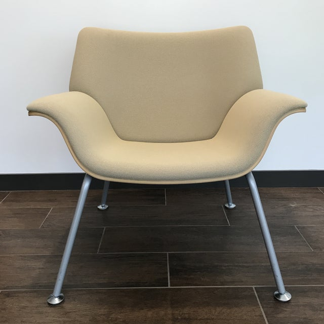 Metal Herman Miller Womb Chair For Sale - Image 7 of 7