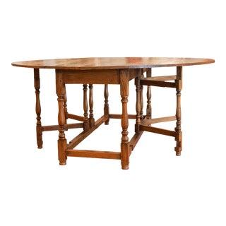 Lemonwood Drop-Leaf Gateleg Wake Table