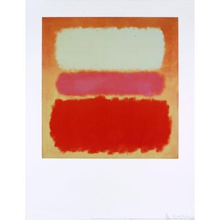 "Mark Rothko ""White Cloud Over Purple"" 1995 Poster For Sale"