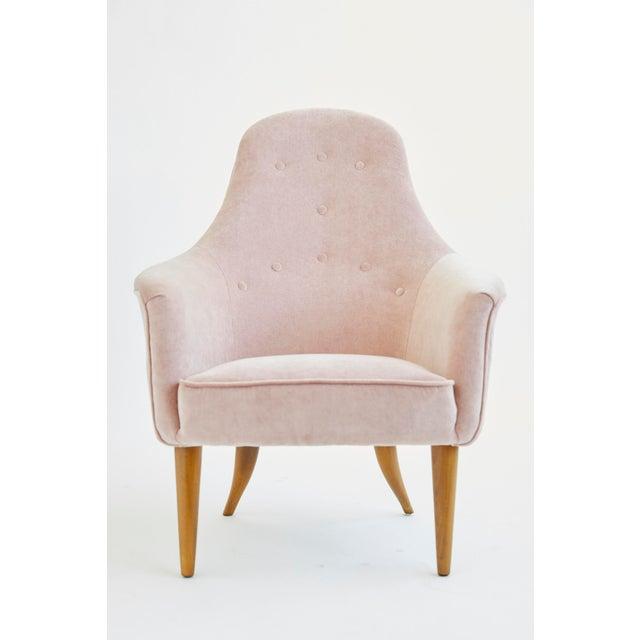 Wood 1950s Vintage Kerstin Hörlin-Holmquist Adam Lounge Chair For Sale - Image 7 of 7