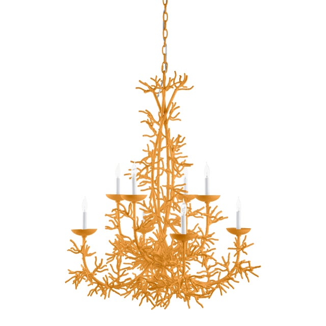 Calypso Chandelier, Dash of Curry For Sale