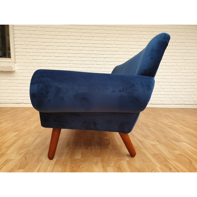 1960s Vintage Kurt Østervig Danish 3 Seater Sofa For Sale - Image 6 of 13