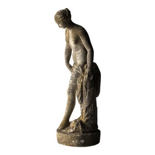Athena Nude Female Garden Figure For Sale
