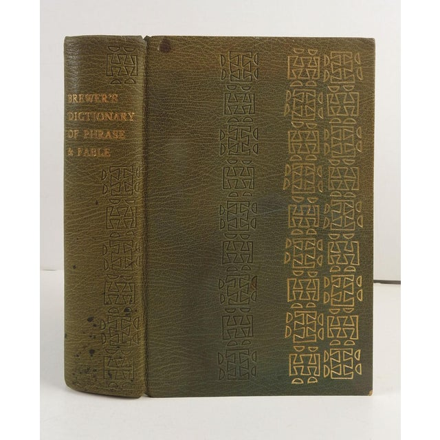 Brewer's Dictionary of Phrase and Fable Book For Sale - Image 4 of 4