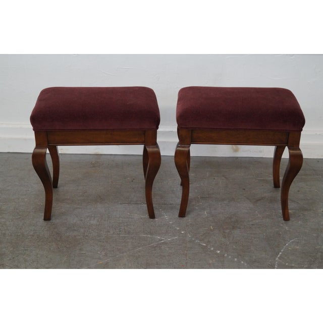 French Country Fremarc Designs French Country Benches - Pair For Sale - Image 3 of 10