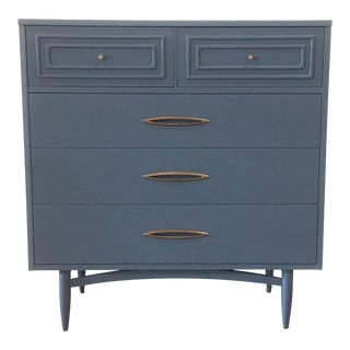 1950s Mid-Century Modern Broyhill Wood Chest of Drawers
