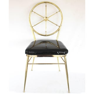 Set of Four Italian Gio Ponti Style Compass Back Chairs Preview