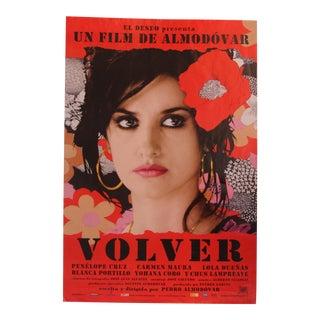 2006 Original Spanish Volver Movie Poster For Sale