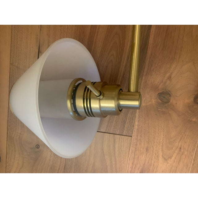 American 1970s Nessen Lighting Swing Arm Wall Lamps - A Pair For Sale - Image 3 of 8