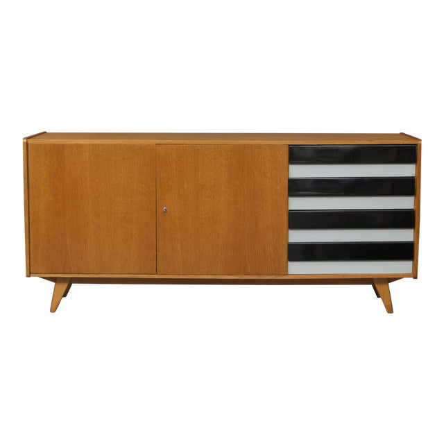 Black & White Accent Interier Praha Sideboard For Sale