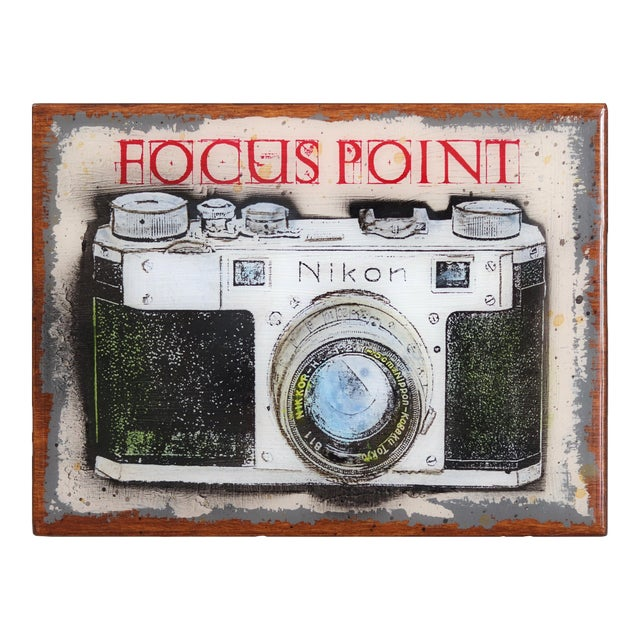 """""""Focus Point"""" Original Artwork by Carl Smith For Sale"""