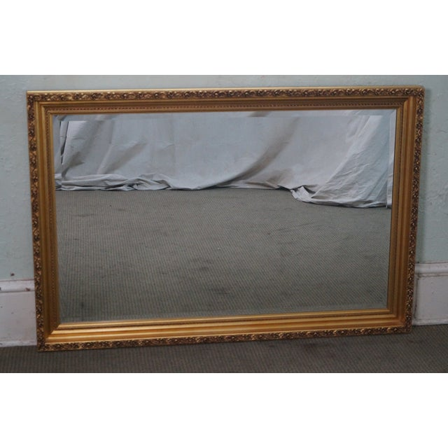 Gilt Frame Beveled Mirror - Image 2 of 10