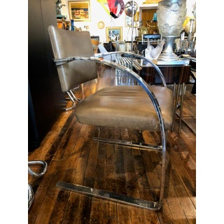 Brueton Chromed Solid Steel Dining Set, Mid Century, 1988 Preview