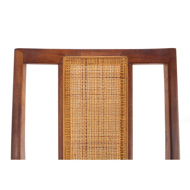 Danish Modern Set of Four Danish Mid-Century Modern Oiled Walnut Side Dining Chairs For Sale - Image 3 of 9