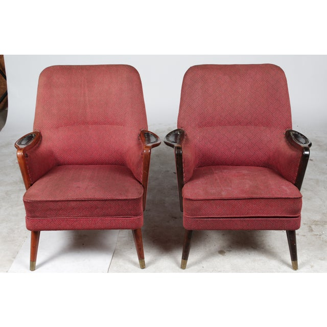 1960s Danish Modern-Style Armchairs - A Pair - Image 2 of 10