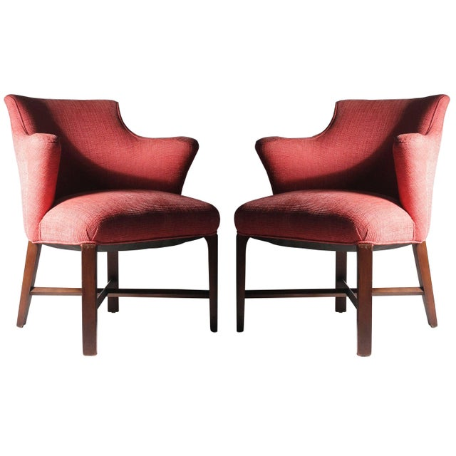 Syrie Maugham Armchairs - 4 Chairs Available - Hollywood Regency For Sale - Image 9 of 9