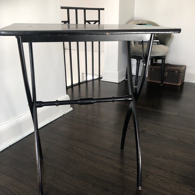 French 19th Century French Officer's Side Table For Sale - Image 3 of 12