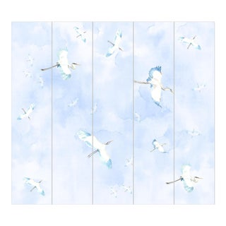 Victoria Larson Fly By Blue Wallpaper Mural For Sale