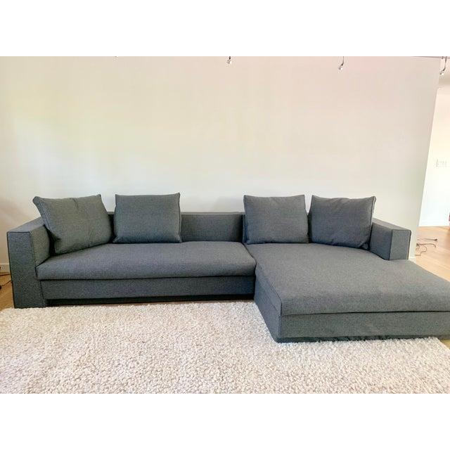 Modern Jens Eilersen Scandinavian Modern Sectional Sofa | Chairish