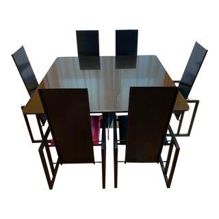 Modern Granite Dining Set For Sale