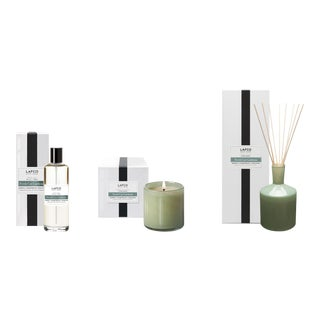 Fresh Cut Gardenia Signature Candle, Classic Diffuser, and Room Mist Gift Set - Set of 3 For Sale