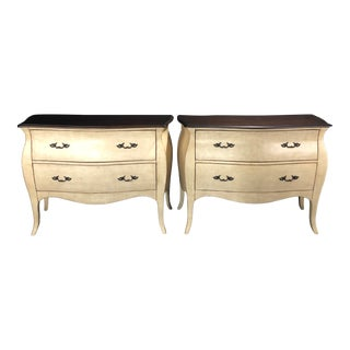 Louis XV Style Painted Chests of Drawers or Commodes or Night Stands For Sale