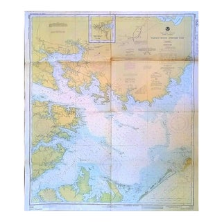 1977 Pamlico Sound- Western Part Nautical Chart