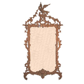 Italian Chippendale Style Carved Mirror