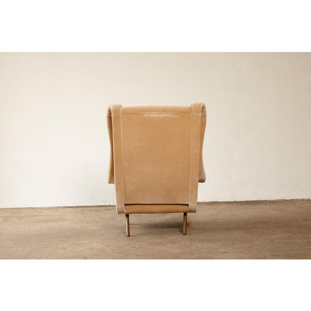 Tan 1960s Mid-Century Modern Marco Zanuso for Arflex Senior Chair For Sale - Image 8 of 12