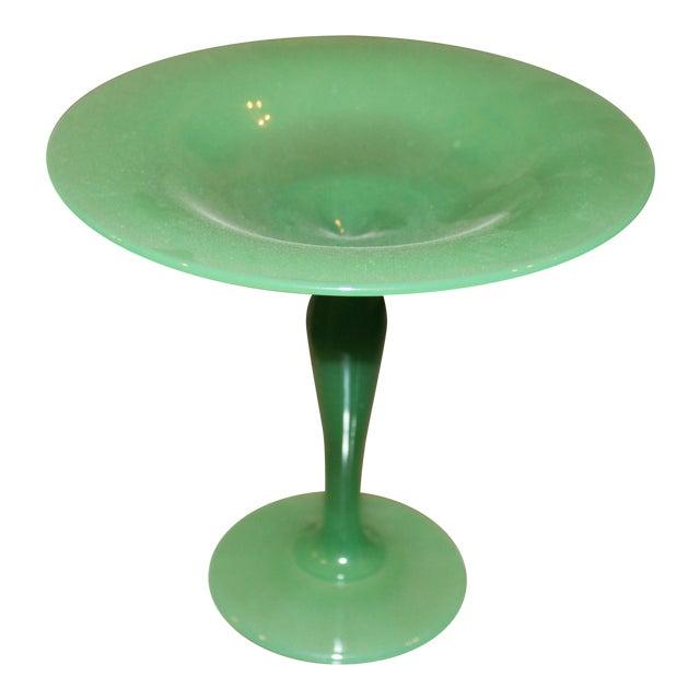 Steuben Jade Glass Tazza Vase, 1930's - Image 1 of 7
