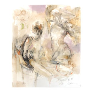 """""""New Dresses"""" Original Painting by Gabriele Mierzwa For Sale"""