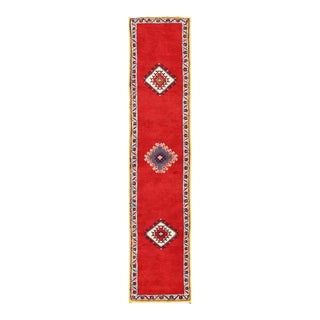 1980s Moroccan Runner Rug - 2′1″ × 9′9″ For Sale