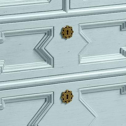 Traditional James Chest of Drawers in Palladian Blue - a Pair For Sale - Image 3 of 5