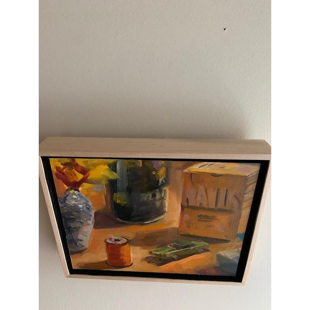 2010s Still Life Take 2 Oil Painting For Sale - Image 5 of 7